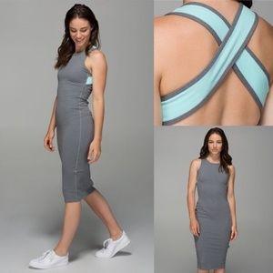 Lululemon Picnic Play Dress Heathered Slate
